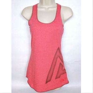 The North Face Women's Flashdry Tank Top XS Coral
